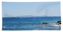 Beach Towel featuring the photograph Mistral.force 6 by George Katechis