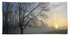 Misty Dawn Beach Sheet