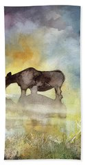 Misty Moose Minerva Beach Towel
