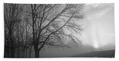 Misty Morning Beach Sheet