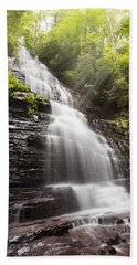 Misty Waterfall Beach Towel