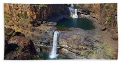 Mitchell Falls Mitchell Plateau Beach Towel