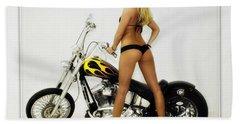 Models And Motorcycles_j Beach Sheet