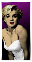 Modern Marilyn Beach Towel