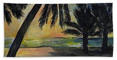 Mombasa Sunrise  Beach Towel