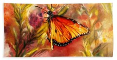 Monarch Beauty Beach Towel
