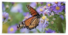 Monarch Butterfly 3 Beach Towel