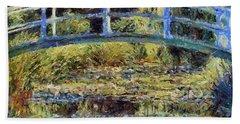 Monet's Bridge Beach Sheet