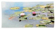 Monet's Garden Beach Sheet
