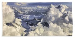 Mont Blanc Beach Towel