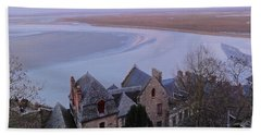 Mont St Michel Tower View Beach Sheet
