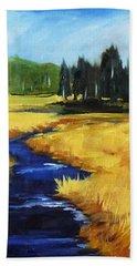 Montana Creek Beach Towel