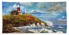 Montauk Lighthouse Beach Towel