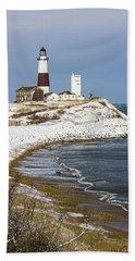 Montauk Snow Beach Towel