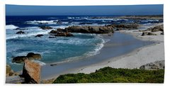 Beach Towel featuring the photograph Monterey-1 by Dean Ferreira