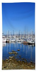Beach Towel featuring the photograph Monterey-7 by Dean Ferreira