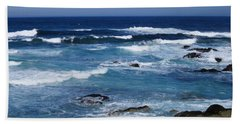 Beach Towel featuring the photograph Monterey-9 by Dean Ferreira