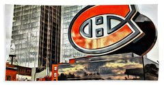 Montreal C Beach Towel by Alice Gipson