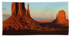 Monument Valley 2 Beach Towel by Ayse Deniz