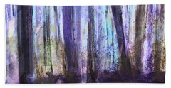 Moody Woods Beach Towel