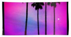 Moon Palms Beach Towel