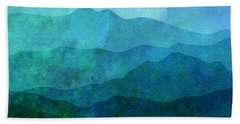 Moonlight Hills Beach Towel