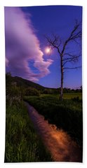 Moonlight Meadow Beach Towel