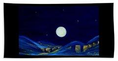 Moonlight. Winter Collection Beach Sheet