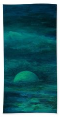 Moonlight On The Water Beach Towel