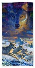 Moonlight Wolfpack Variant IIi Beach Towel
