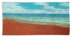 Moonset A Beach Sheet