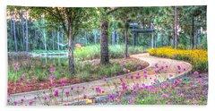 Moore Garden Stroll Beach Sheet
