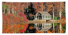 Moore State Park Autumn II Beach Towel