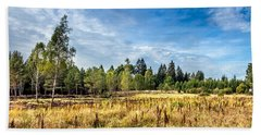 Wetlands In The Black Forest Beach Towel