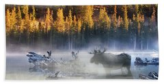 Moose Lake Beach Towel