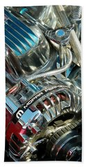 Mopar In Chrome Beach Towel