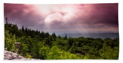 Morning At Dolly Sods Beach Towel