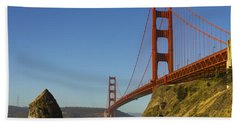 Morning At The Golden Gate Beach Towel
