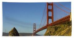Morning At The Golden Gate Beach Sheet