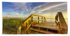 Morning Beach Walk Beach Sheet