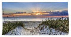 Morning Blessing Beach Towel