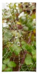 Morning Dew Beach Towel by Vicki Spindler