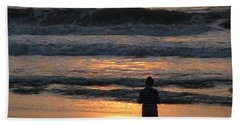 Beach Towel featuring the photograph Morning Has Broken by Greg Patzer