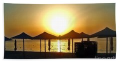Morning In Greece Beach Towel
