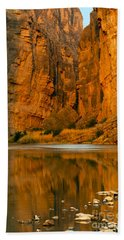 Morning Light In The Canyon Beach Towel