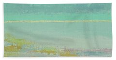 Morning Low Tide Beach Towel