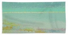 Morning Low Tide Beach Sheet by Gail Kent