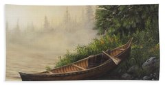Morning Mist Beach Towel