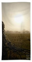 Morning Mist Beach Towel by Vicki Spindler