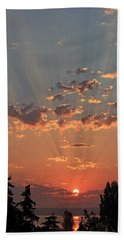 Morning Rays Beach Towel by E Faithe Lester